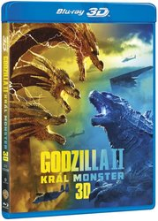 Godzilla 2: Král monster (2D+3D) (2 BLU-RAY)