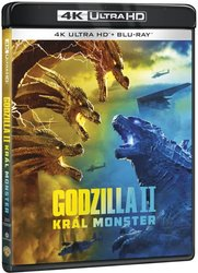 Godzilla 2: Král monster (4K ULTRA HD+BLU-RAY) (2 BLU-RAY)