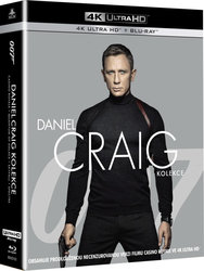 Daniel Craig James Bond kolekce (4 UHD + 4 BLU-RAY)