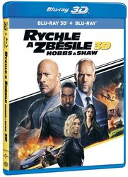 Rychle a zběsile: Hobbs a Shaw (2D + 3D) (2 BLU-RAY)