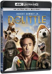 Dolittle (4K ULTRA HD + BLU-RAY) (2 BLU-RAY)