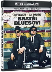 Bratři Bluesovi (4K ULTRA HD + BLU-RAY) (2 BLU-RAY)