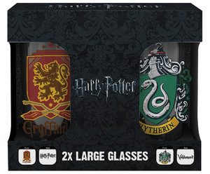 Sklenice Harry Potter - Erby set 2 ks 500 ml
