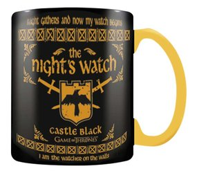 Hrnek Hra o trůny - Nights Watch 568 ml