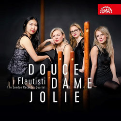 i Flautisti - The London Recorder Quartet: Douce Dame Jolie (CD)