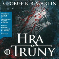 Hra o trůny 1 (4 MP3-CD) - audiokniha
