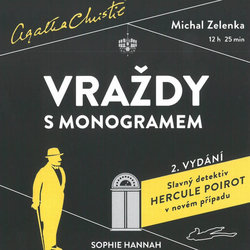 Vraždy s monogramem (MP3-CD) - audiokniha