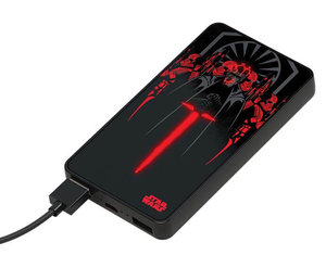 Powerbanka Star Wars s LED logem 6000 mAh