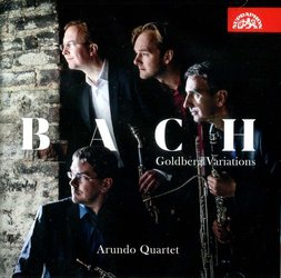 Arundo Quartet - Bach: Goldbergovské variace (CD)