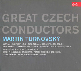 Martin Turnovský - Great Czech Conductors (2 CD)