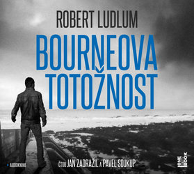 Bourneova totožnost (2 MP3-CD) - audiokniha