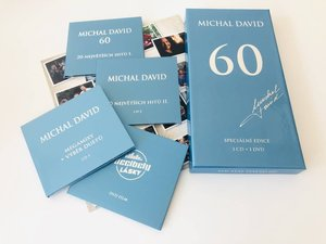 Michal David: 60 (3 CD + DVD film Decibely lásky)